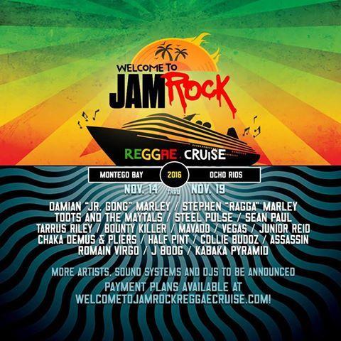 Jamrock Cruise 2020.Jamrock Reggae Cruise On Twitter Follow Us On Facebook For