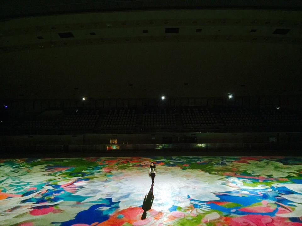 麗しかった。。。 なんどもなんども色彩に飛び込み 想いをこめて表現してくれた高橋大輔さん、ありがとう。。。 https://t.co/pJefEThSnD