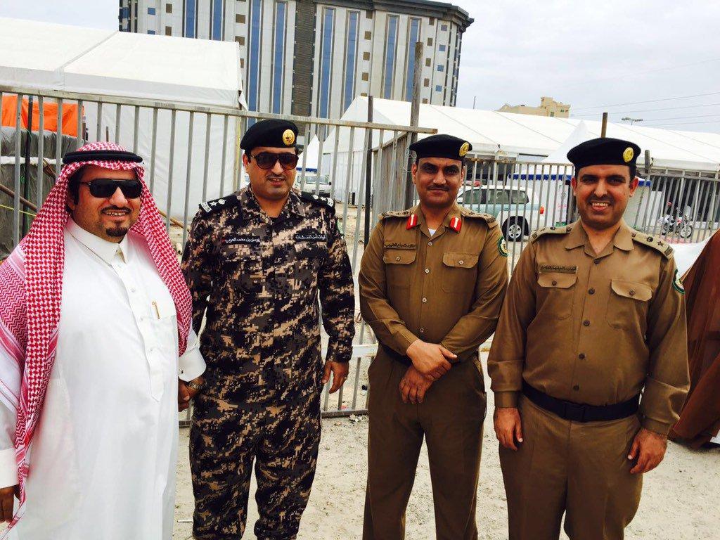 """فاضل بن ثروي on Twitter: """"مدير مرورالجبيل العقيد سعود شجاع ..."""