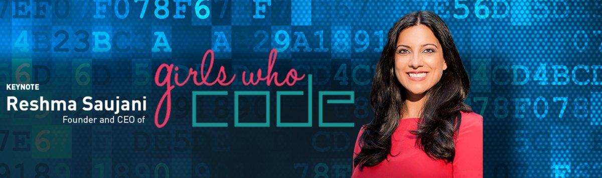 .@GirlsWhoCode CEO/Founder @reshmasaujani headlines #shoporg16 in Dallas. https://t.co/hFxk5Zjdrw @experienceNRF https://t.co/CPQGvEM66i
