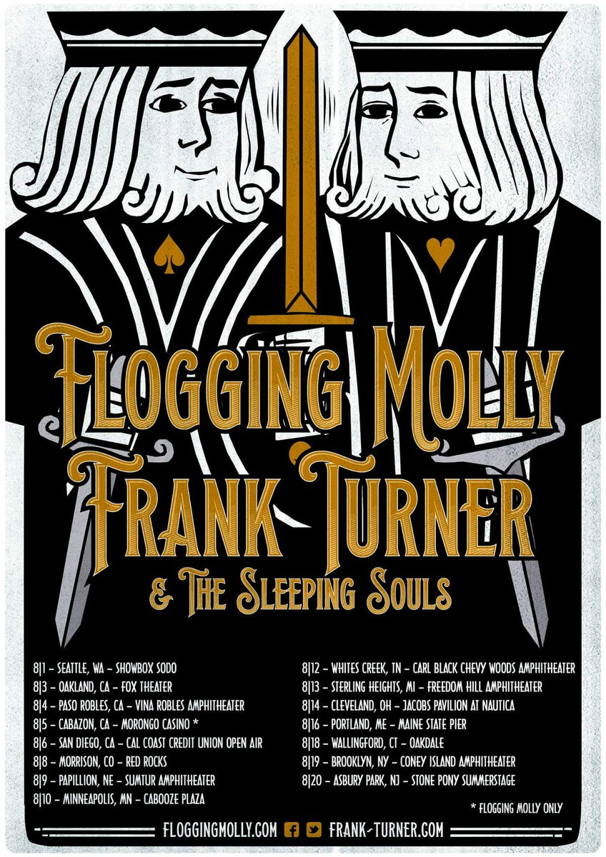 .@frankturner and us are hitting the road! All dates on https://t.co/uM1t7a3qV9 #floggingfranktour2016 https://t.co/6K5wUWjYwz
