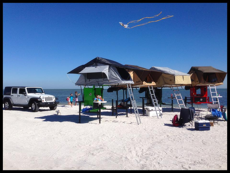 St. Pete/Clearwater on Twitter  A3 Hitch Top Tents take #beach c&ing to the next level at Fort De Soto Park. Literally! & St. Pete/Clearwater on Twitter: