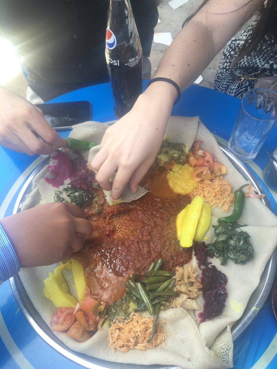 Enjoying the tastes of #Ethiopia #GastroDiplomacy #MPDabroad in Addis Ababa https://t.co/a0xEus4j96
