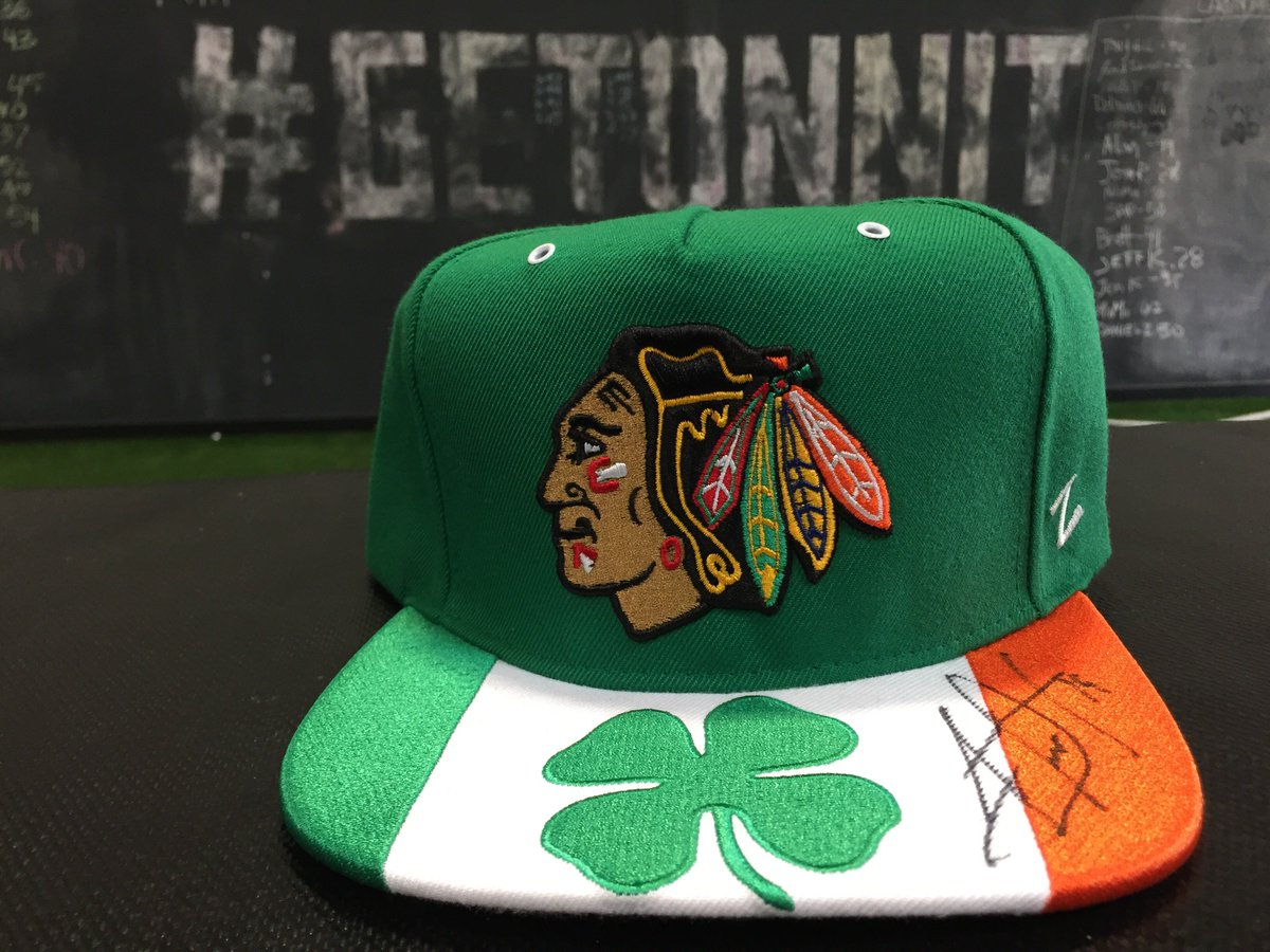 Win this @JonathanToews autographed @NHLBlackhawks St. Paddy's Day hat. RT to enter! Must follow @Onnit. https://t.co/Yc1ySS64nP