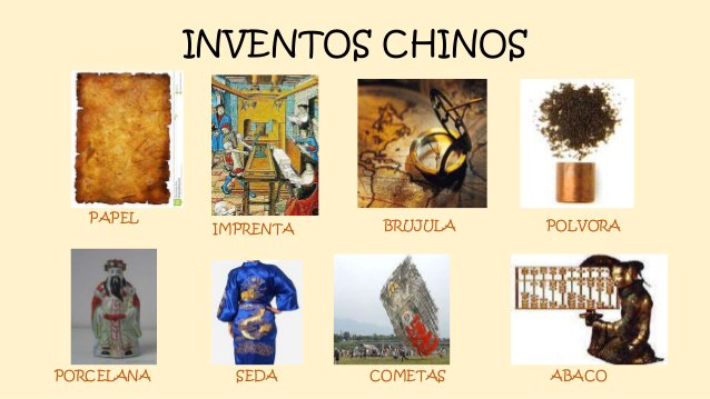 3 inventos chinos