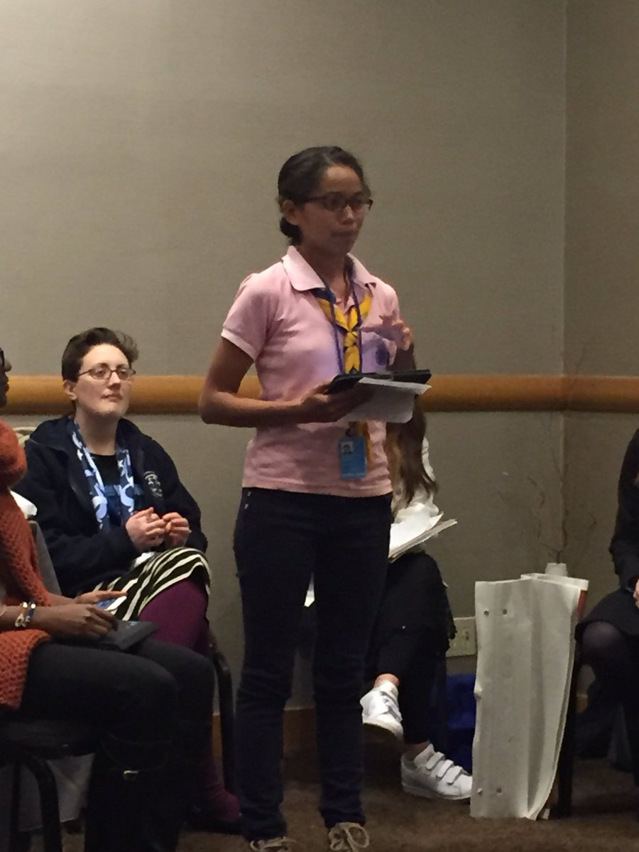 Vahatra, Madagascar, shares @wagggs_world mission: we want to help all girls reach their fullest potential. https://t.co/1ciDI4OxWR