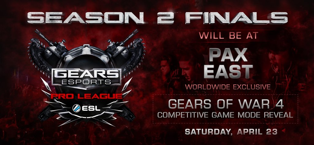 gears of war on twitter join us at pax east for the esportsgears