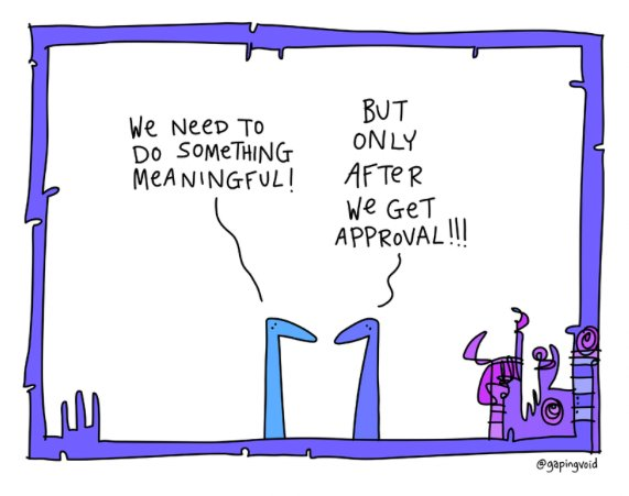 OK. So @gapingvoid  is just very incredibly awesome https://t.co/xaN7xZC5Cx