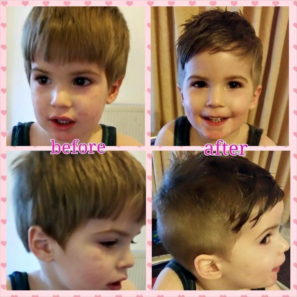Cody Holden On Twitter My Gorgeous Little Boy First Short Back