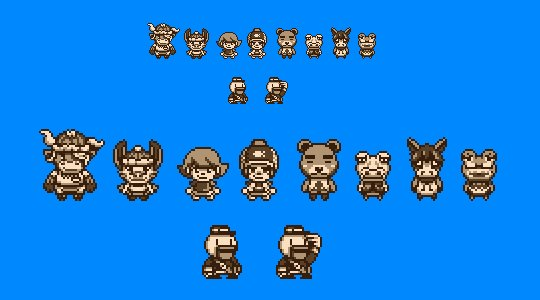 Game Boy Demakes On Twitter Character And Baitlure