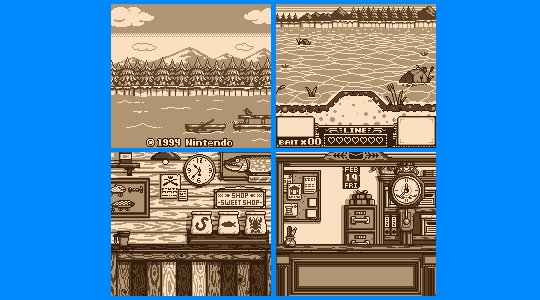 Game Boy Demakes On Twitter And Finally Background