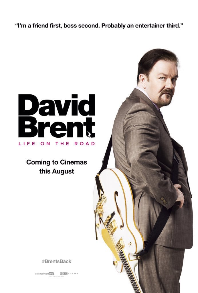 Image result for david brent movie poster