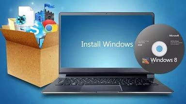 Установка и настройка Windows на дому