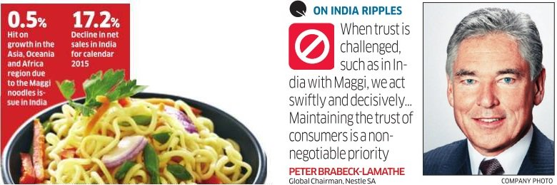 #MaggiBan to hit @Nestle show in Asia, Oceania and sub-Saharan Africa