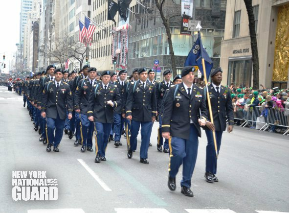 "Tomorrow the NYARNG ""Fighting 69th"" leads the #NYC #StPatricksDay Parade for the 165th time! #BeThere #FightingIrish https://t.co/yCIs6PEiGJ"