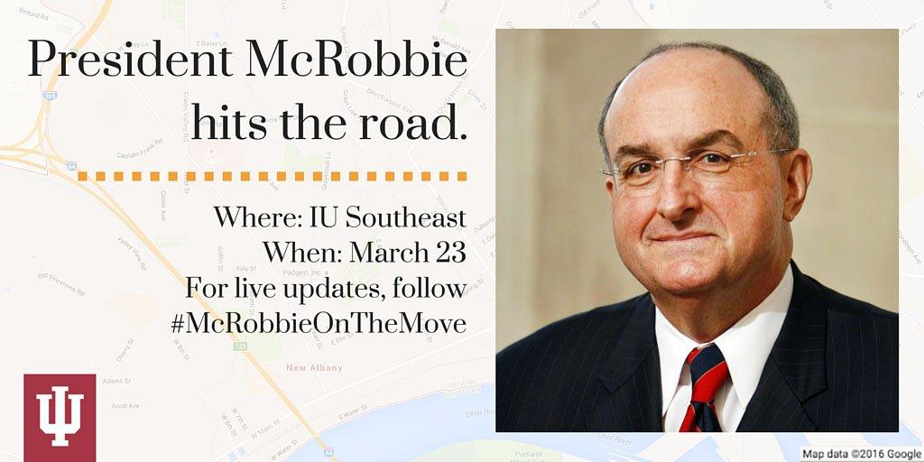 Thumbnail for #McRobbieontheMove: IU Southeast