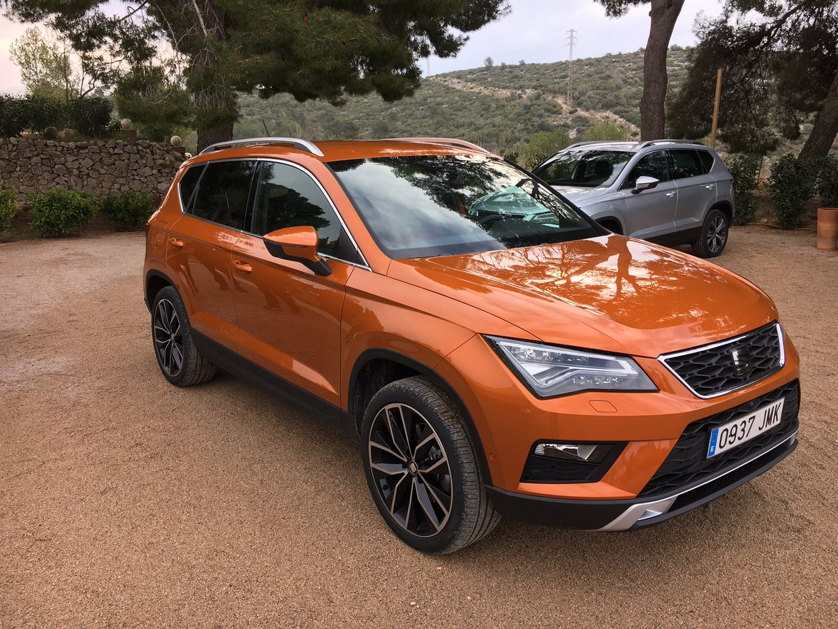 roberto gurian on twitter early test of seat ateca around barcelona prova in anteprima della. Black Bedroom Furniture Sets. Home Design Ideas