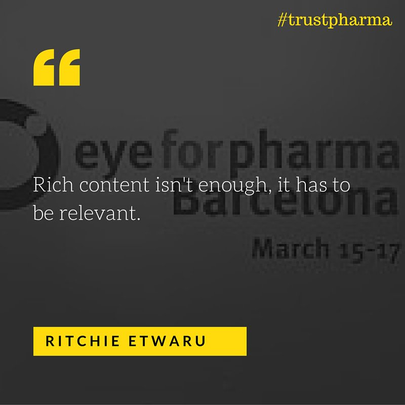 Thumbnail for 18 QUOTES FROM DAY 1 AT EYEFORPHARMA #trustpharma #e4pbarca