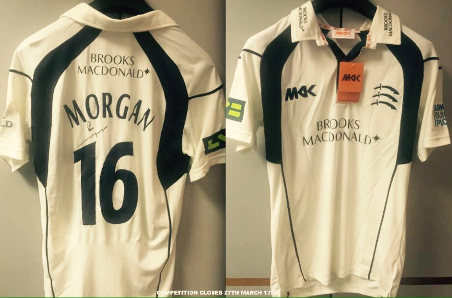 To celebrate the start of England's #WT20 we are giving away a signed Eoin Morgan shirt! Simply RT & follow to enter https://t.co/NuCPOrbSdd