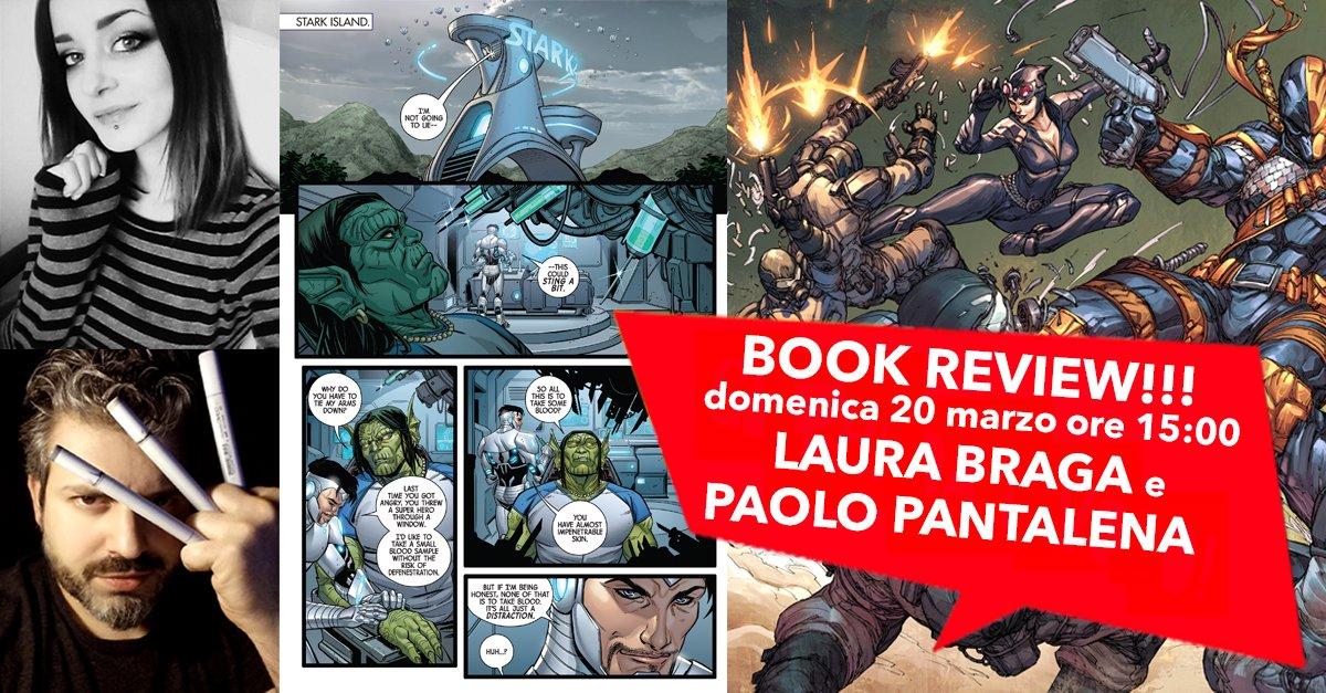 test Twitter Media - Sei un aspirante fumettista? Partecipa al #BookReview con @Laura Braga e @Paolo Pantalena!https://t.co/CnnTPwtDHs https://t.co/ll0FYebvRY