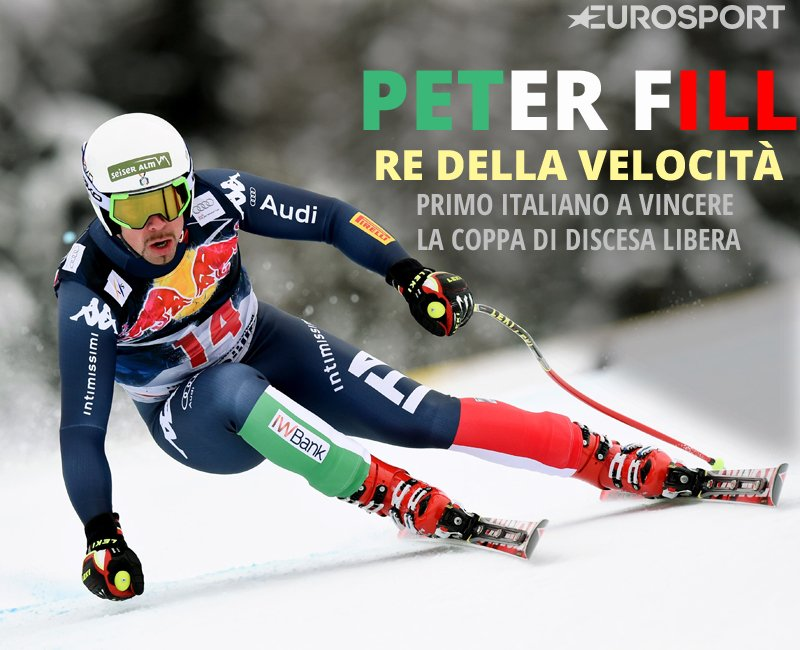 Orgoglio Peter #Fill, il trionfo del campione italiano... bit.ly/1XuztH2 #EurosportSCI