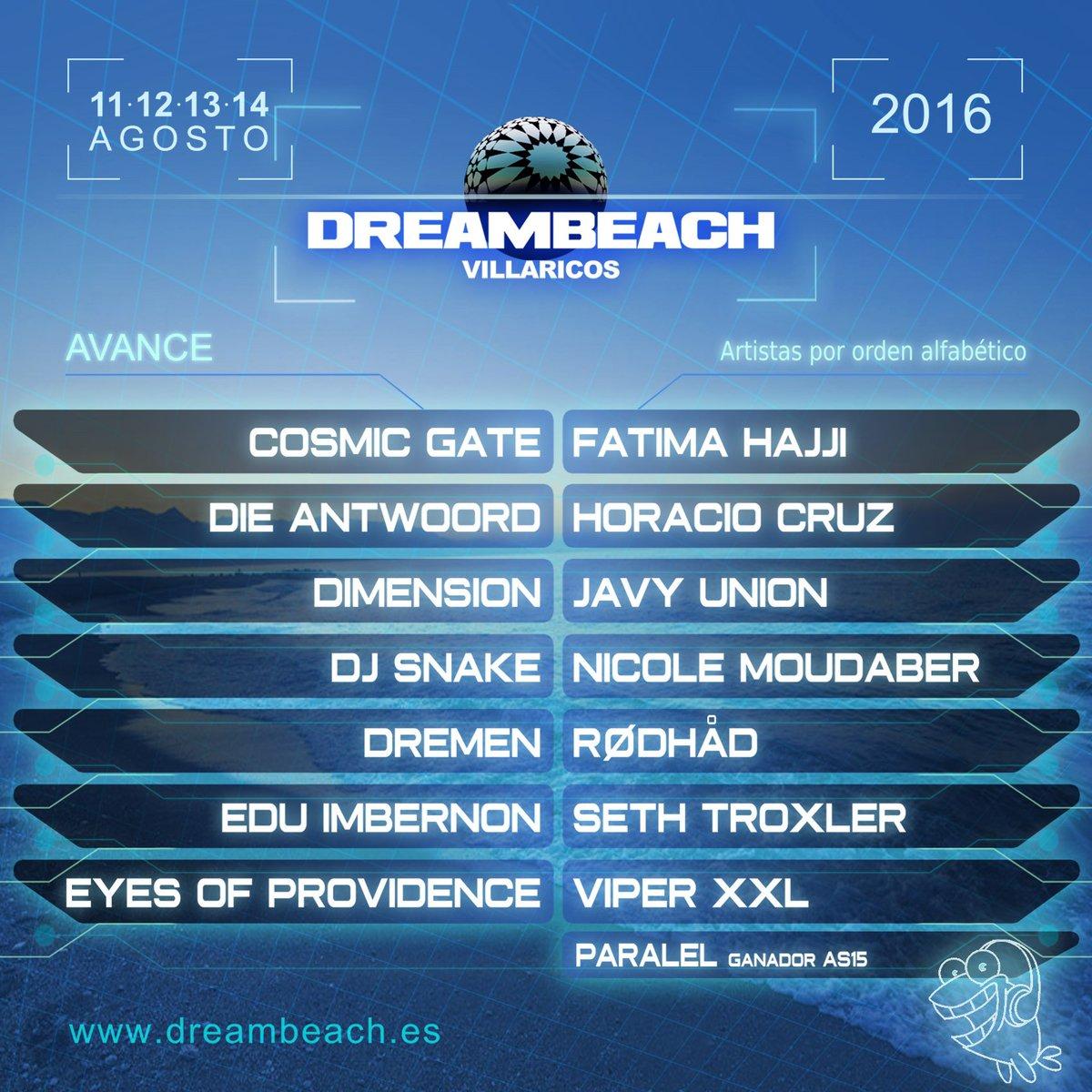 #Dreambeach CONFIRMAMOS que este verano vas a vivir algo ÚNICO: #GoVillaricos #SoyDreamer