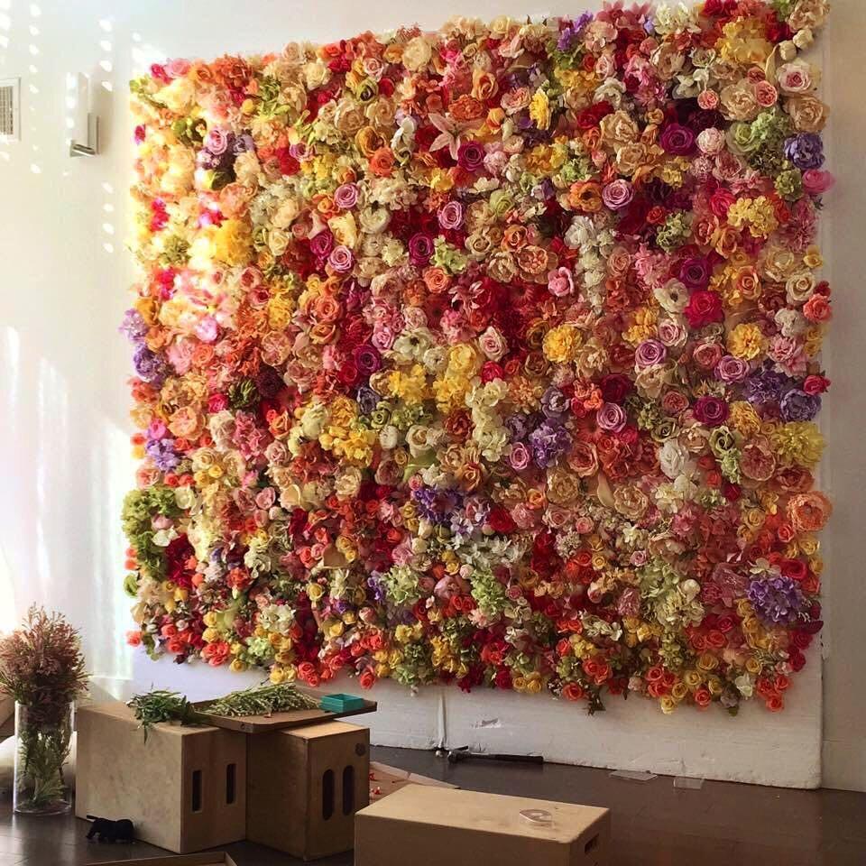 своих как сделать стену из цветов для фотосессии устройства