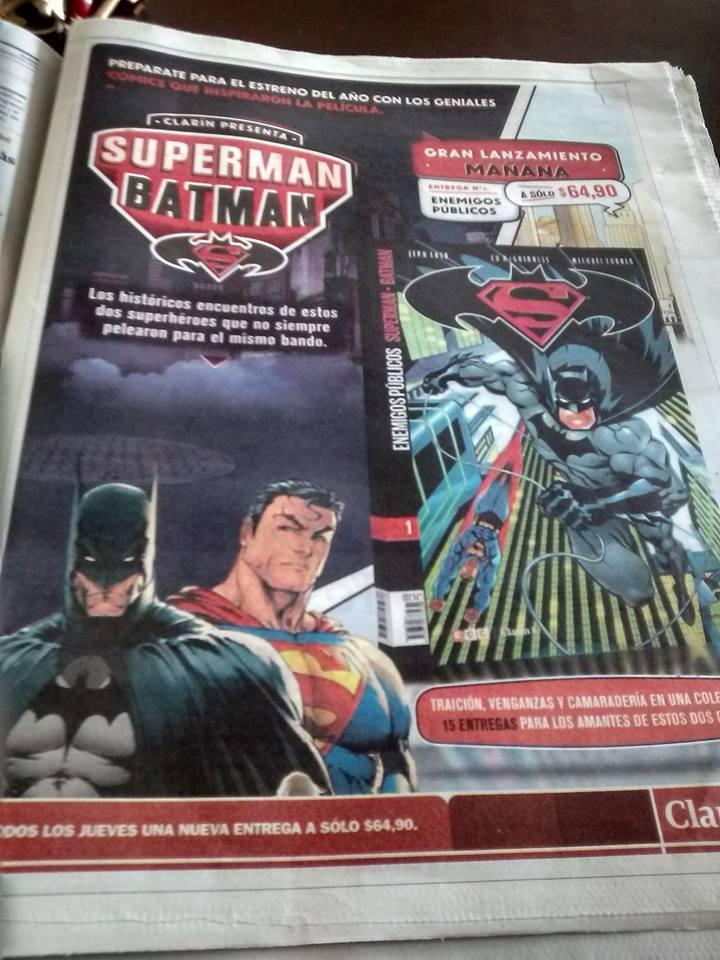 33-35 - [Clarin - ECC] Colección Superman/Batman de Clarín - Página 4 CdrTb9MWAAAyM4a