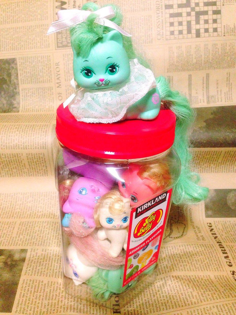 まるでJelly Belly 砂糖菓子的魅力たっぷりのリトルプリティキティちゃん#littleprettykitty #マイリトルポニー #MyLittlePony #MLP #ファンシートイ #fancy #アメトイpic.twitter.com/Ut6jZbuLe3