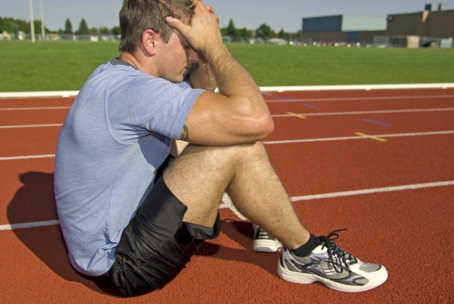 Sad Track Student