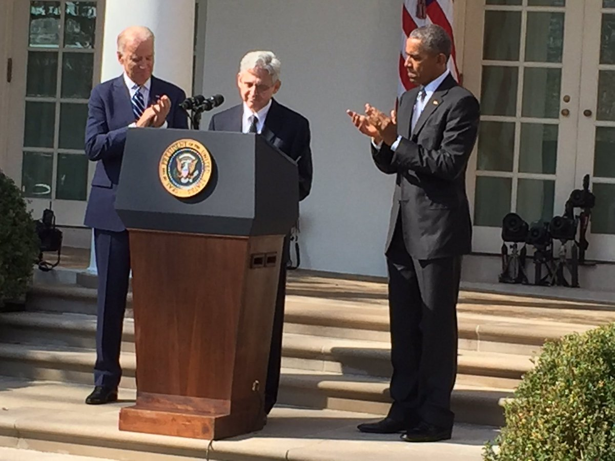 "#SCOTUSnominee Merrick Garland to #POTUS: ""I'm grateful beyond words for the honor you have bestowed on me."" @wusa9 https://t.co/enAdWIH8Sl"