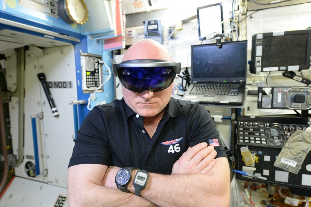 NASA Video Shows HoloLens Being Used On The Space Station