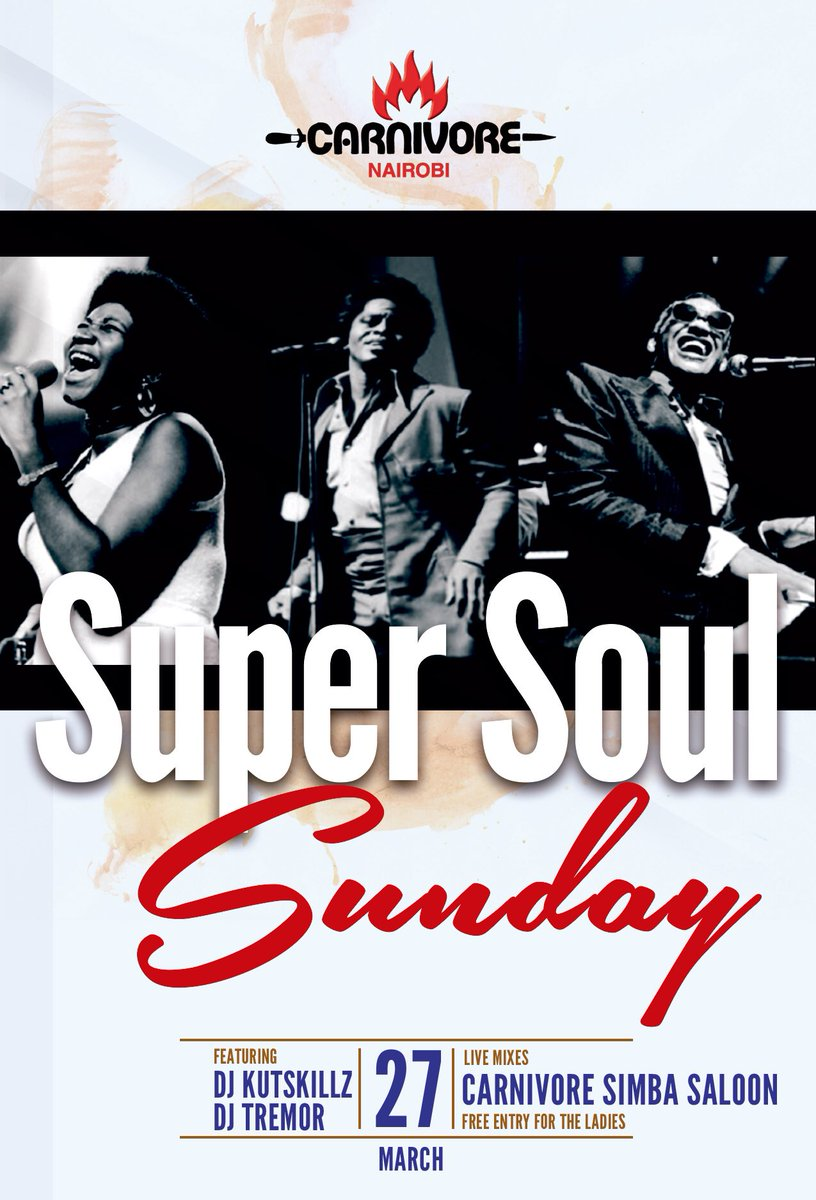 Get your dancing shoes on!!!! We wrap up the Easter weekend with Super Soul on Sunday 27th. See you then!! https://t.co/OBe7Z7To1M