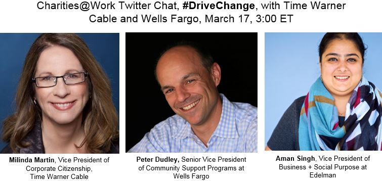 Thumbnail for #DriveChange: In Conversation with Time Warner Cable and Wells Fargo