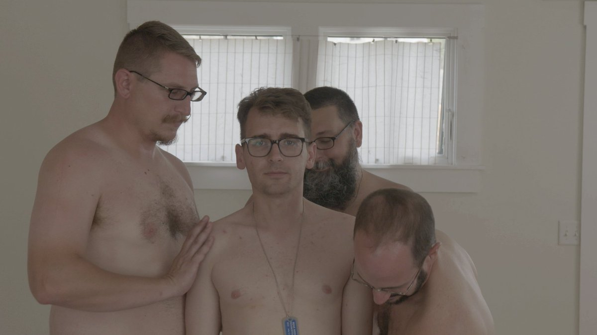 Stretched balls men and hairy gets blow 6