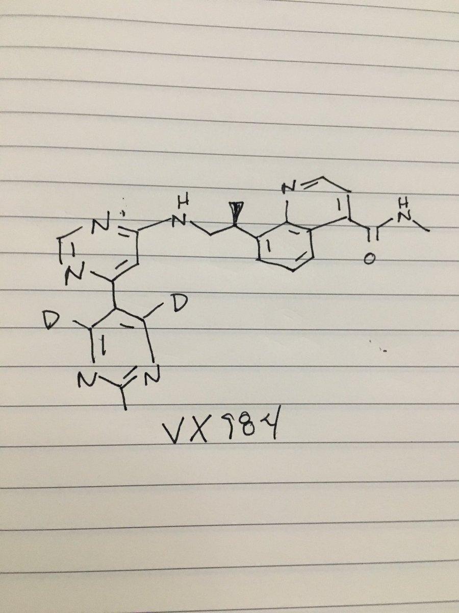 $VRTX DNA-dependent protein kinase inhibitor #ACSSanDiego https://t.co/IJlIQYMeSb