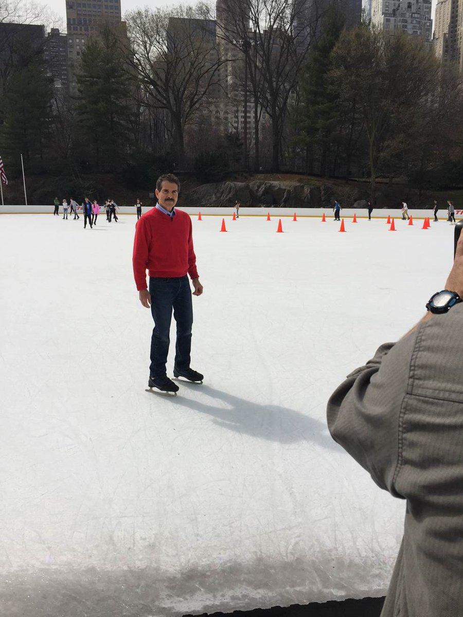 I can skate here ONLY b/c @realdonaldtrump fixed this rink after NYC gov't spent $13M, but FAILED! Good for Trump! https://t.co/BjKs0RQCNy