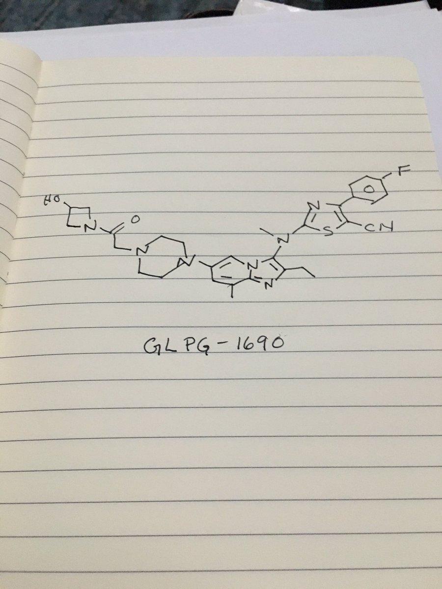 $GLPG compound for treating idiopathic pulmonary fibrosis MEDI #ACSSanDiego https://t.co/QESHEi1t3K