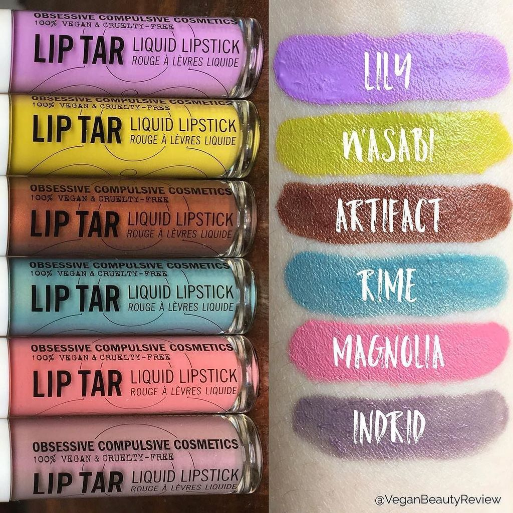 Ooh, I'm diggin' @occmakeup's newest Lip Tar shades!
