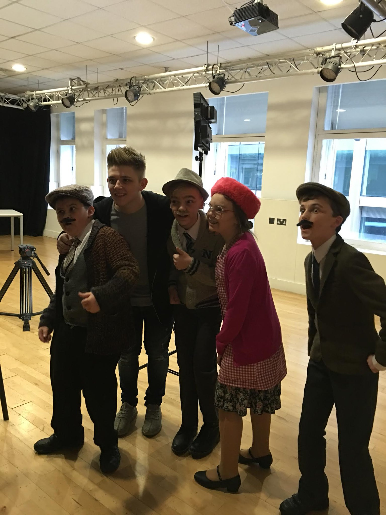 RT @UKTheatreSchool: Crackin' day filming with this brilliant guy +our Wee Still Gamers! Thanks @nickymcdonald1 Ur an absolute star! https:…