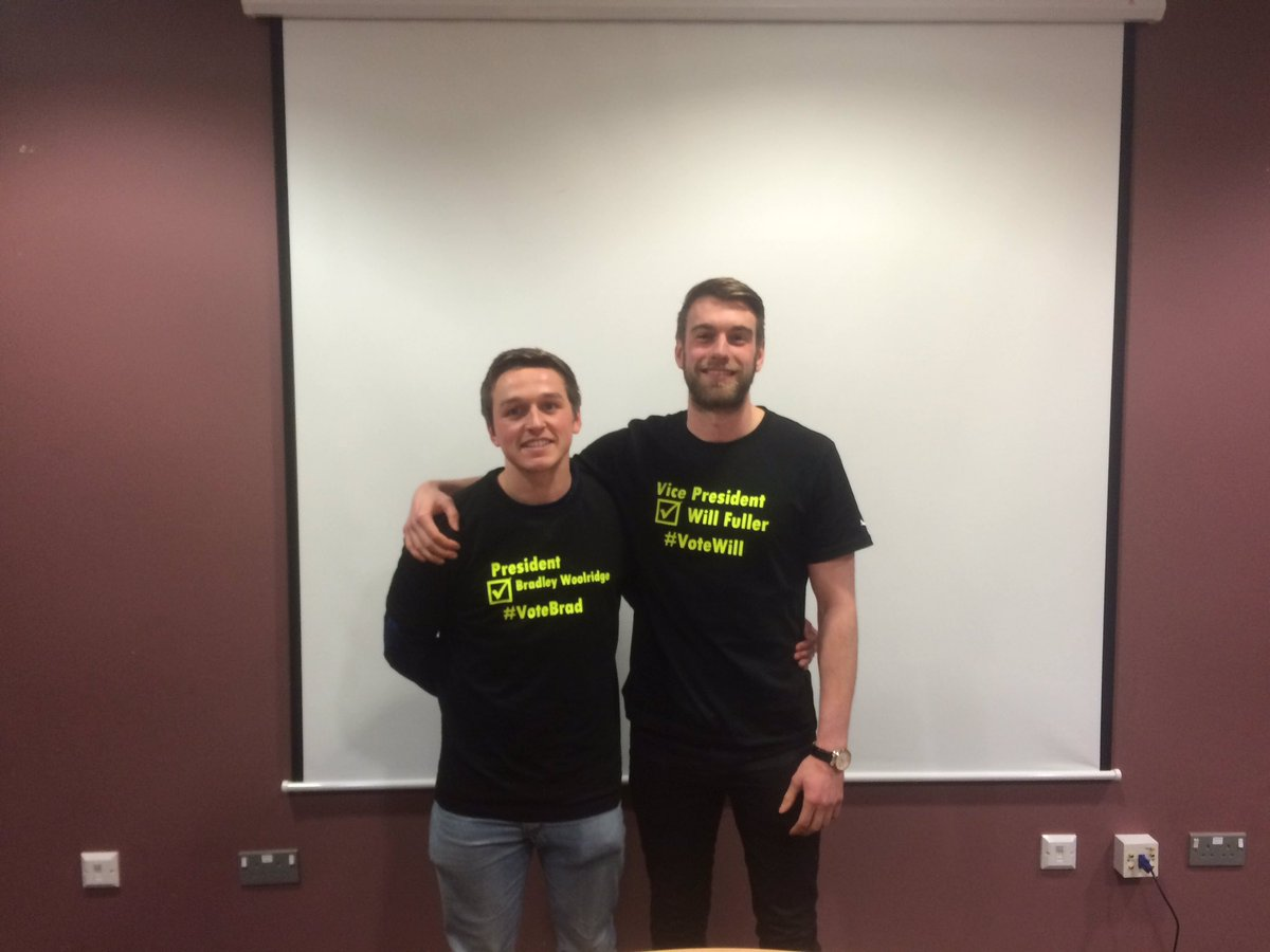 Congratulations to @BradWoolridge1 and @willfuller1 our new President and Vice-President elect. #MetElections https://t.co/r25hNFhlFv