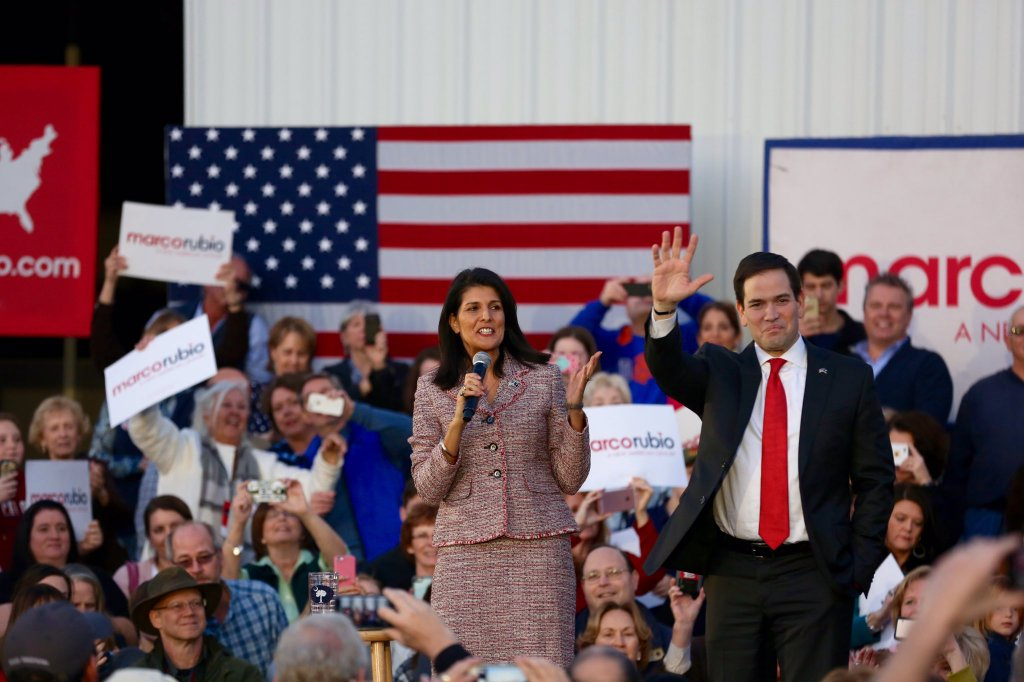 Gov. @nikkihaley siding with @tedcruz after @marcorubio drops out of presidential race. https://t.co/DnjhevAFXM https://t.co/h5x8wdzZuv