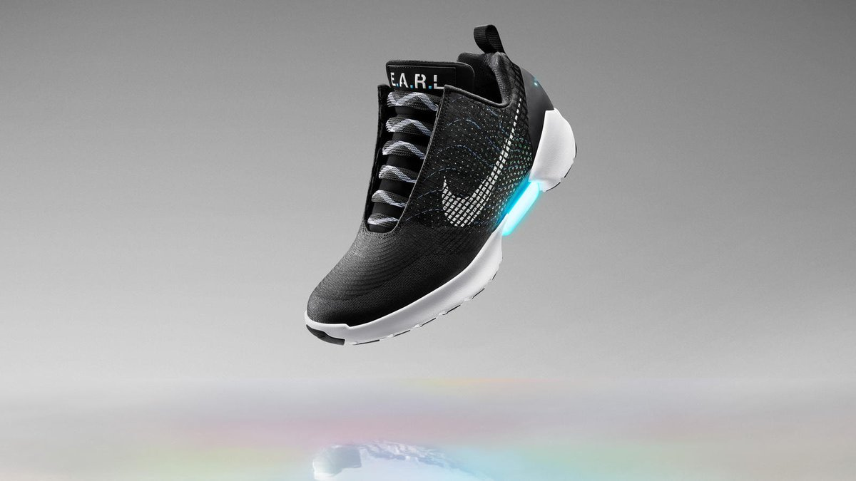 The Nike HyperAdapt 1.0 are power lacing shoes from the future: