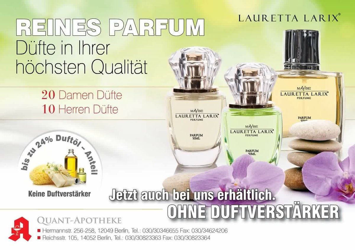 Lauretta Larix On Twitter Apotheke Fragrance Duft Perfume