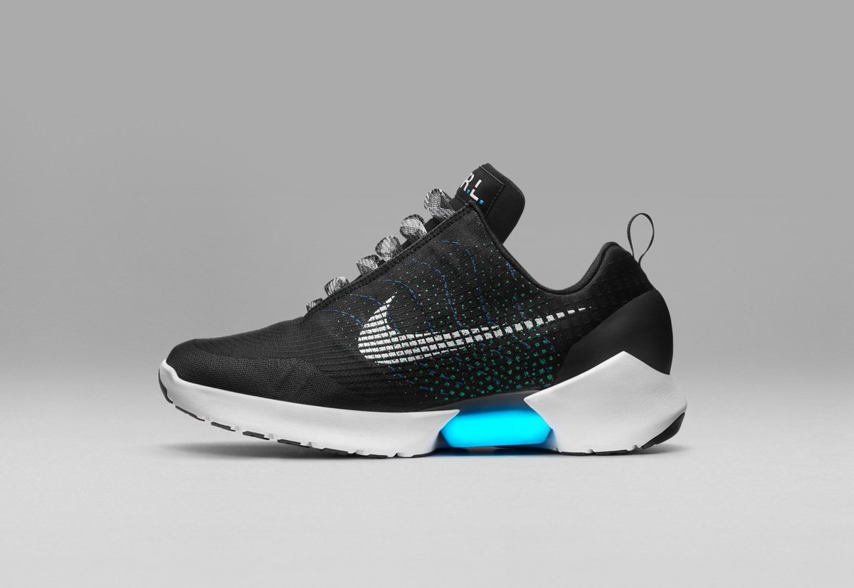 Nike just unveiled the first real power-lacing sneaker, the HyperAdapt 1.0 by @fitztepper
