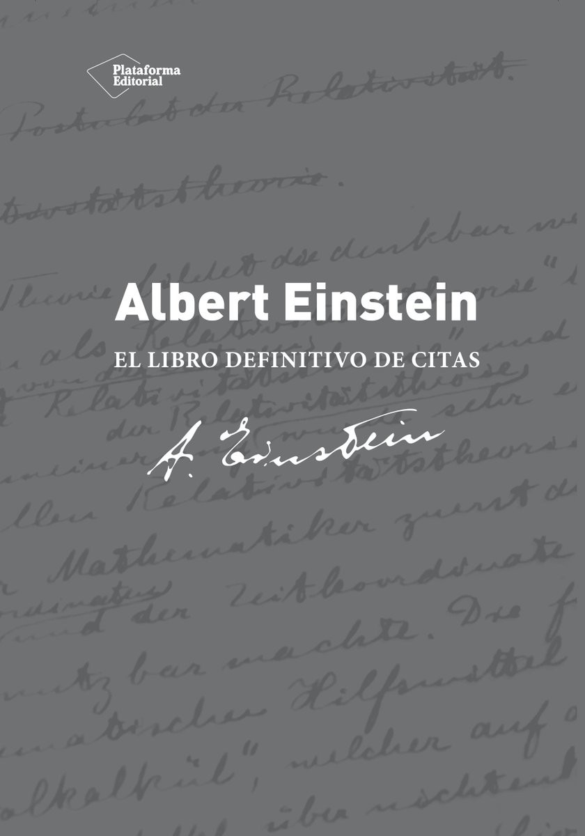 Leer Infinito On Twitter 1600 Frases Del Físico Albert