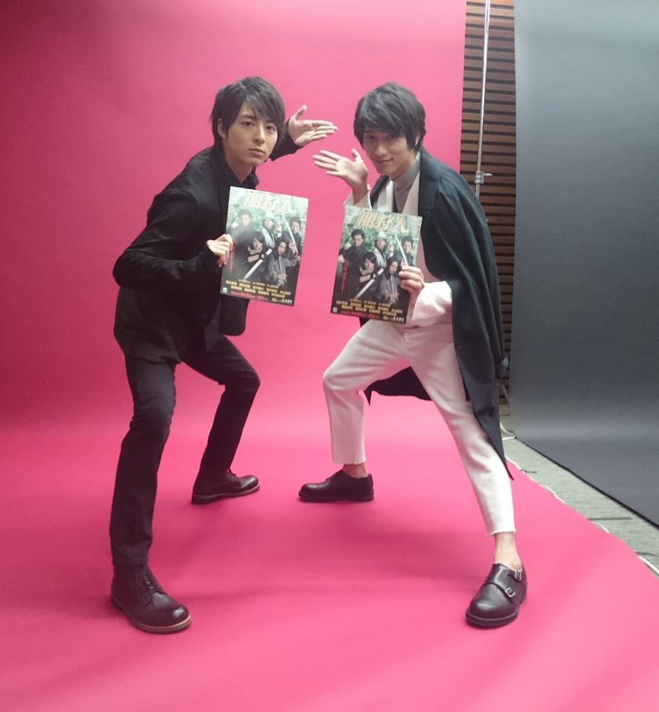 本日3/17発売「tvガイドdan vol.9」で横浜流星さんとのグラビア掲載です!「闇狩人」クロストーク。二人で自由に動きながらの撮影、すごく楽しかったそうです。これはかなりご機嫌麗しい高杉さん。  - scoopnest.com
