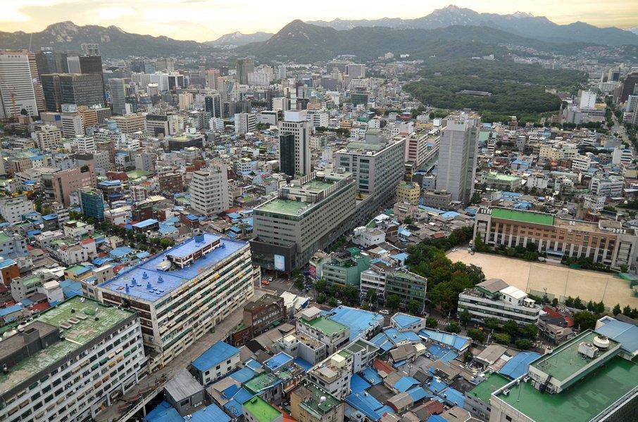 Afbeeldingsresultaat voor seun sangga seoul aerial view jongmyo
