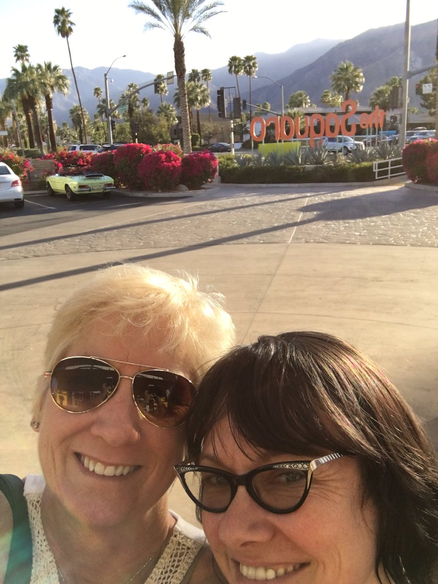 Checking in! #McMo is in the house! #cue16 @MongerSheila https://t.co/h4NQOm2Yp1