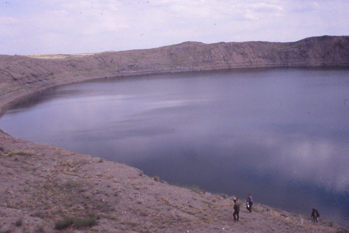 Nuclear Crater Sedan